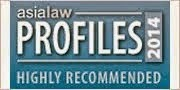 AsiaLaw Leading Lawyer