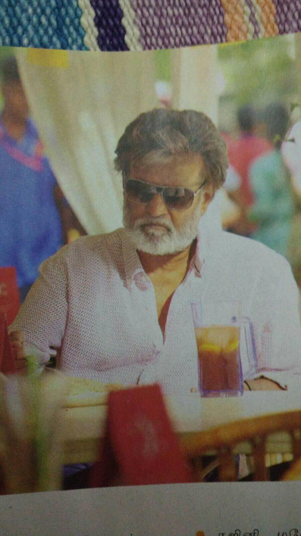 super star rajini kabali movie working stills gallery