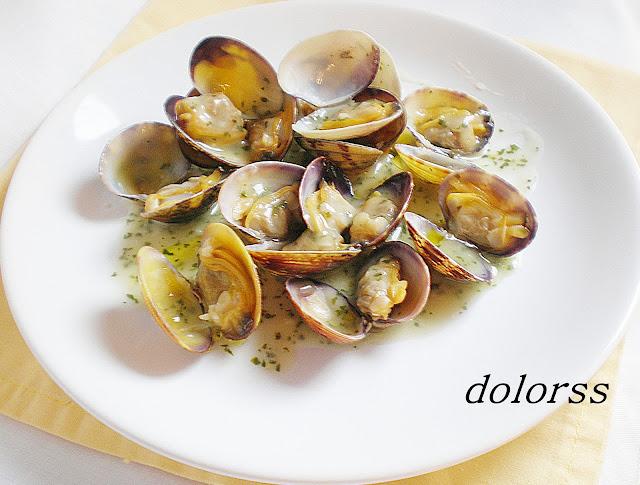 Blog de cuina de la dolorss almejas con salsa verde - Almejas con salsa verde ...