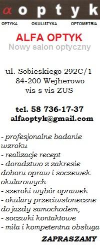 Alfa Optyk Wejherowo