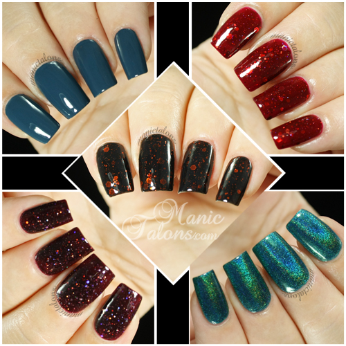 KBShimmer Fall 2014 Collection Select Swatches