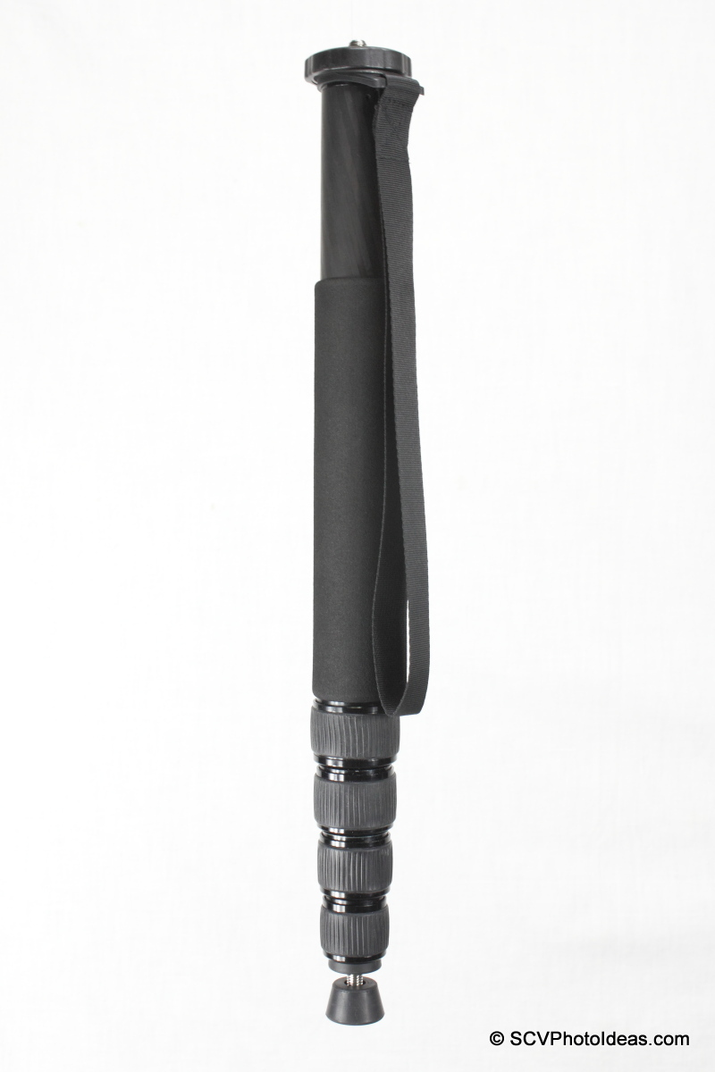 Triopo GL-70 Carbon Fiber Monopod - closed vertical
