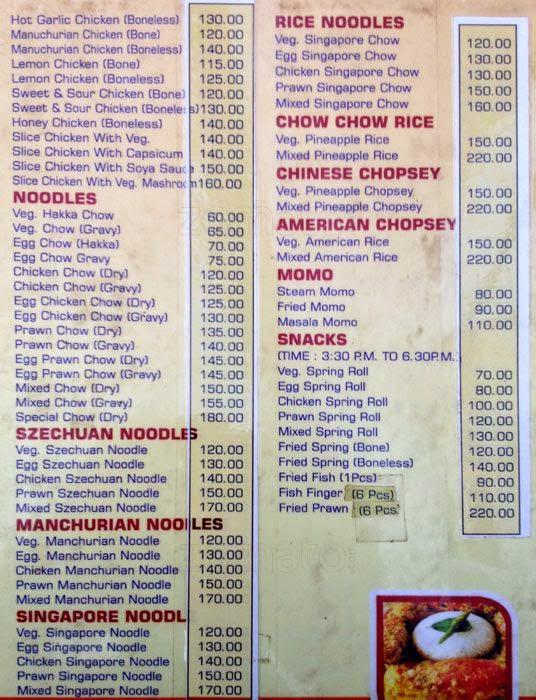 Kolkata bengal information for Arman bengal cuisine dinas menu