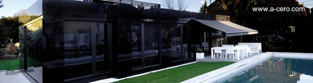 Casa prefabricada modular española de A-cero