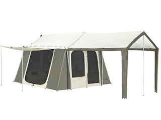canvas cabin tent