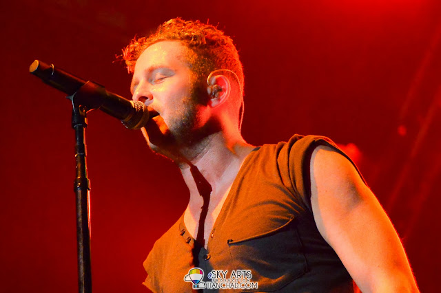 The only close up for Ryan Tedder - OneRepublic Native Live in Malaysia 2013