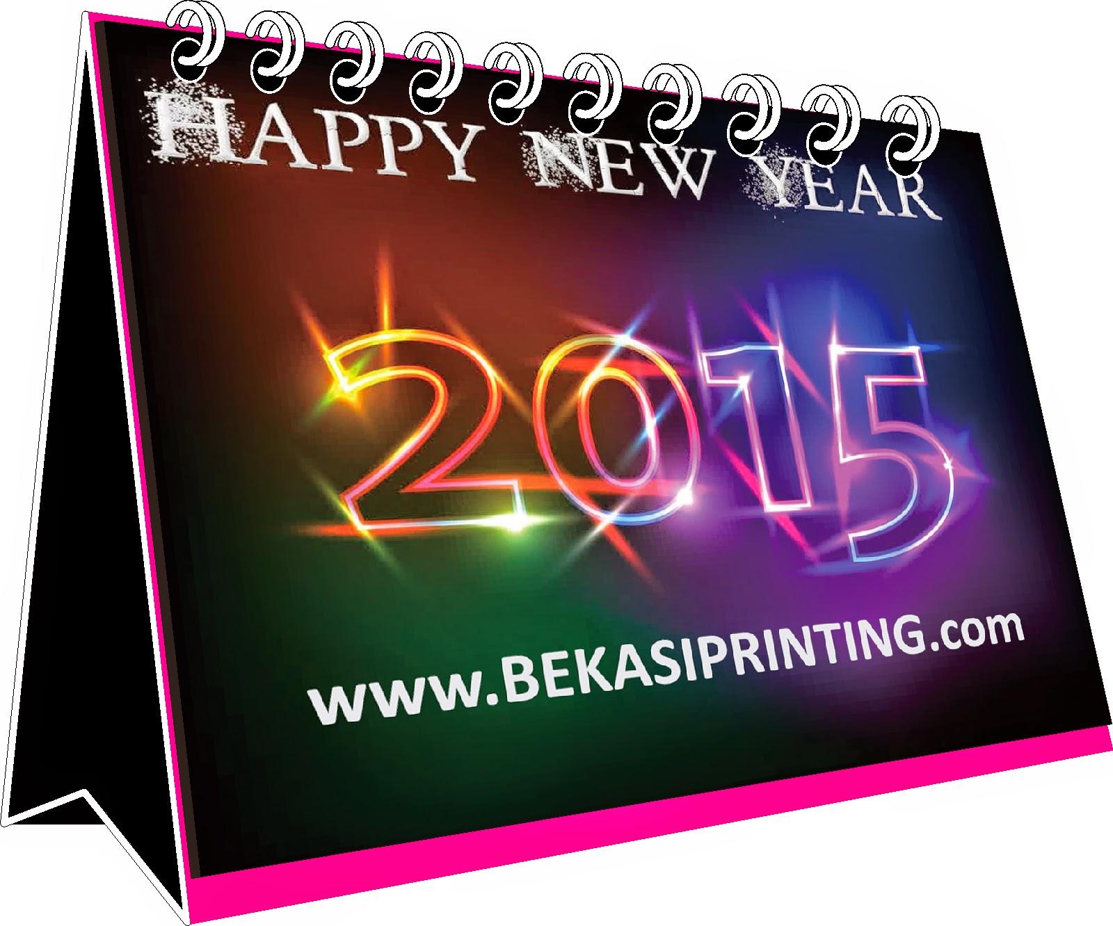Cetak Kalender Duduk 2015