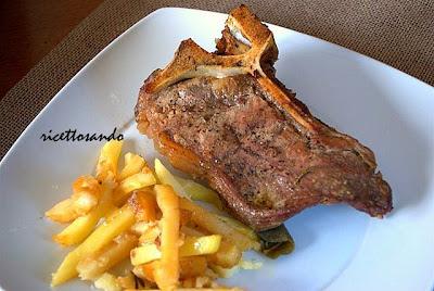 Costata di manzo al forno ricette secondi di carne