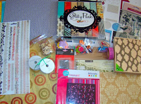 Candy en el blog de Judy Scrap