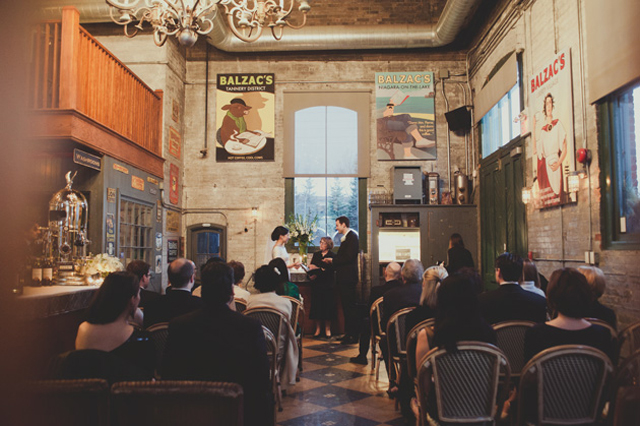Balzac's Coffee Toronto Wedding 