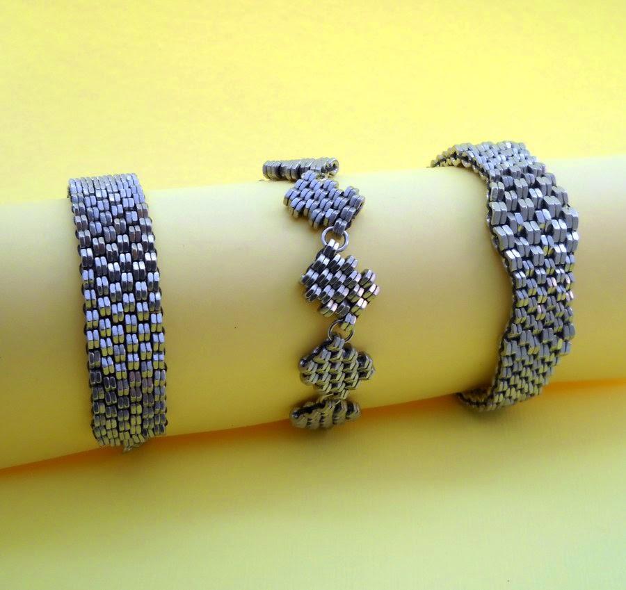 Crosshatch Bracelets