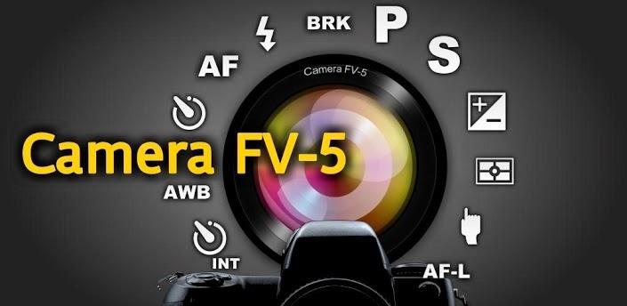 Aplikasi Kamera Android - Camera FV-5