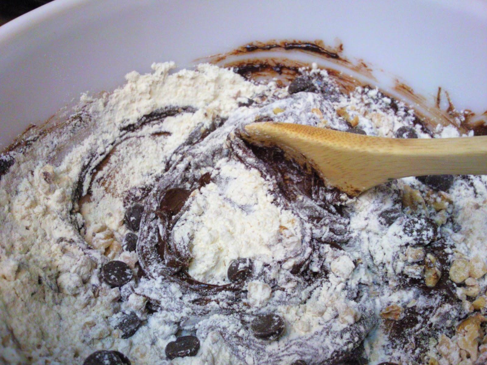 CJ's Kitchen: Ghirardelli Chocolate Truffle Cookies with Sea Salt