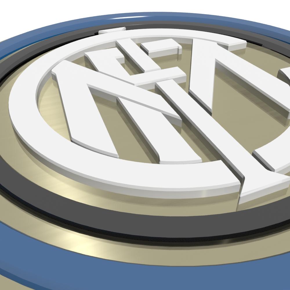 BOX 3DSM Escudo Da Internazionale Inter De Mil U00e3o