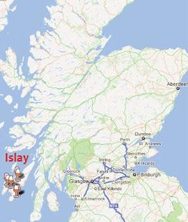 Islay map
