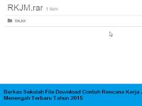 Berkas Sekolah File Download Contoh Rencana Kerja Jangan Menengah Terbaru Tahun 2015