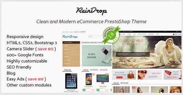 PrestaShop 1.6 & 1.5 Responsive Theme