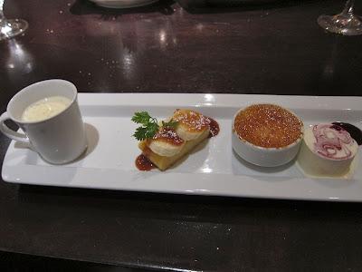 Desserts at Parcel 104