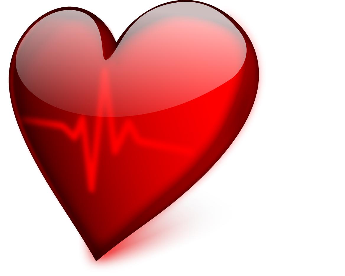 光沢あるハートのクリップアート red heart vector イラスト素材5