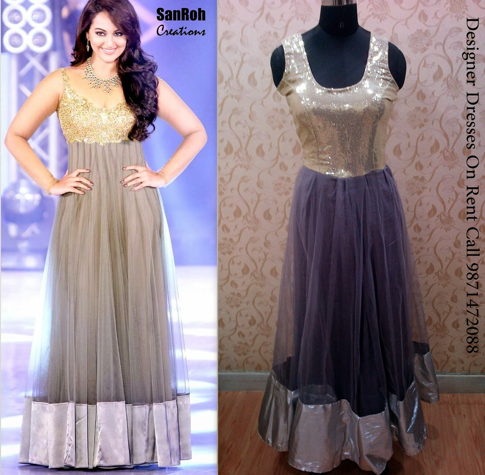 Sanroh Creations: Bollywood Replica