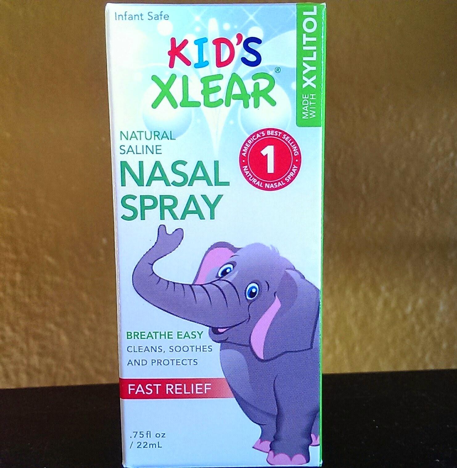 Nasal%2BSpray Kid's Xlear Nasal Spray Review - Natural Nasal Spray Decongestant