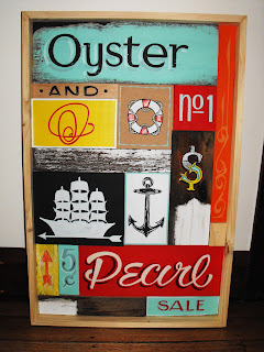 Hand Painted Puzzle Traditional Signwriters Australia Box Retro and Vintage Signage Dobell signs Sydney New South Wales Australia