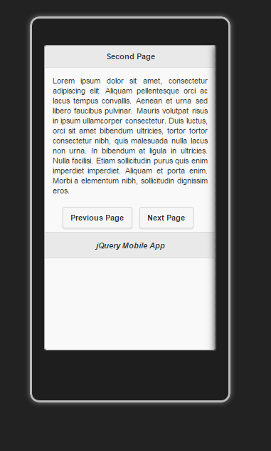 Simple First jQueryMobile App For Android and BlackBerry in 20 minutes