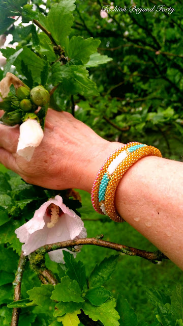 SASHKA Fair Trade Glass Bead Bracelets