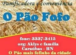 """PANIFICADORA """"O PÃO FOFO"""""""