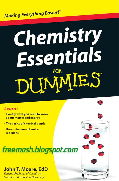 Chemistry Essentials for Dummies PDF Ebook Free Download