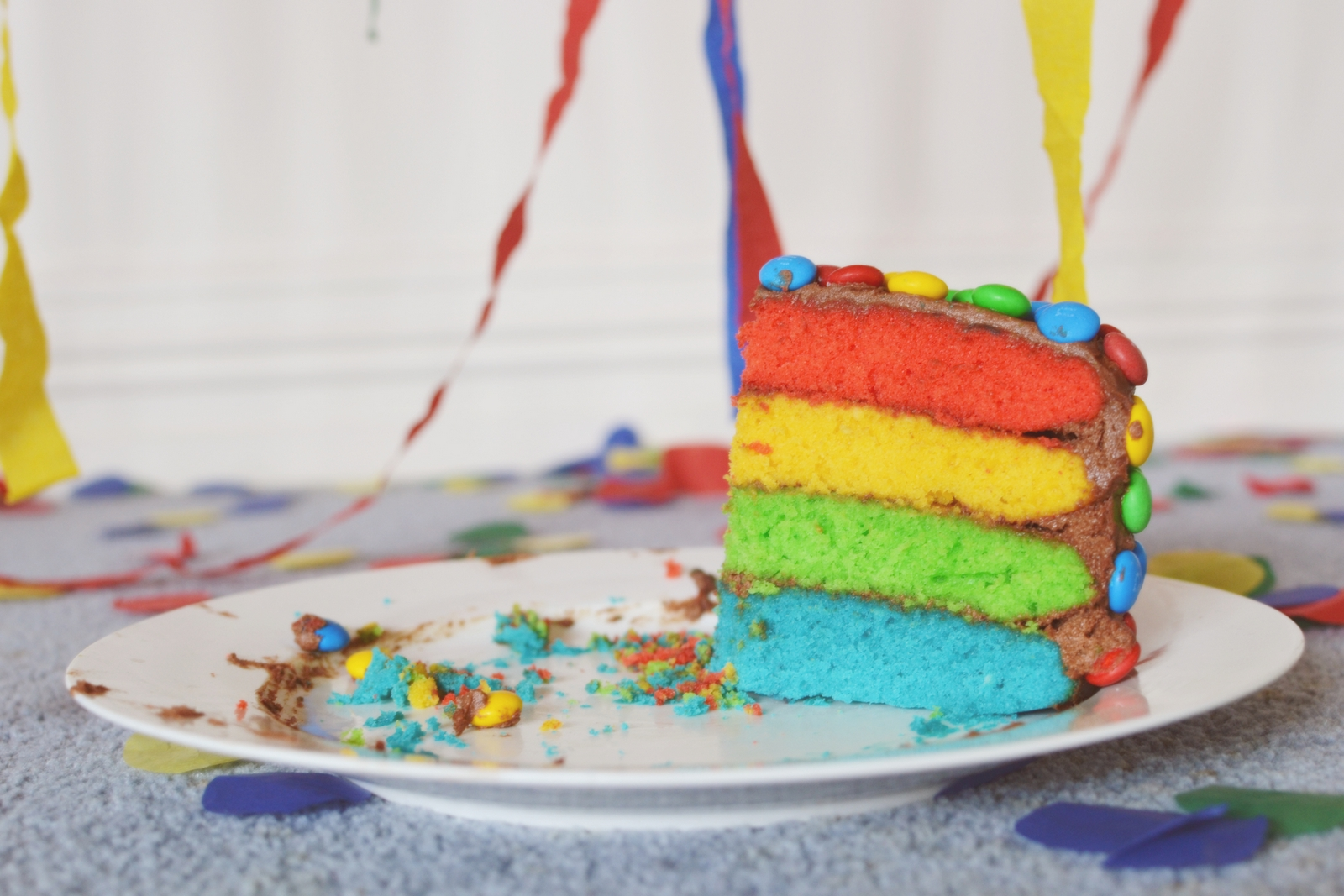how to make a rainbow layer cake nz