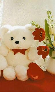 Gambar wallpaper lucu teddy bear untuk android