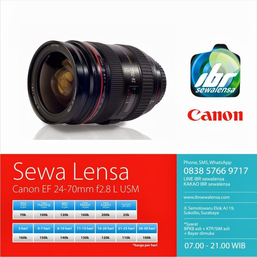 Canon 24-70 mm F2.8 L USM
