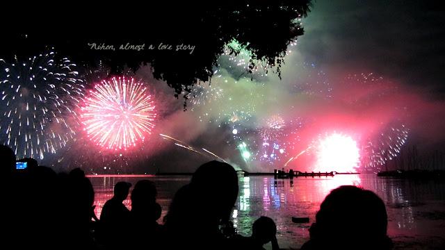 Lake Biwa fireworks