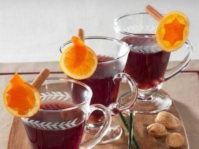 Poncha - Bebida , vinho quente para a noite de Natal