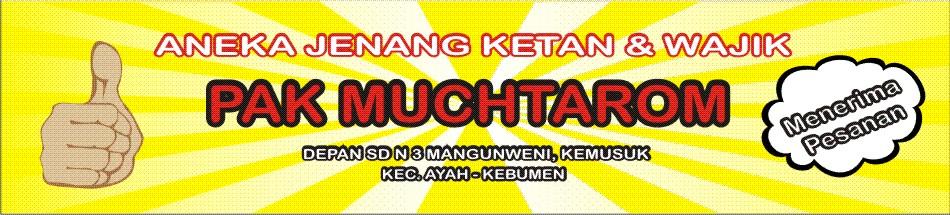 Jenang Pak Muchtarom