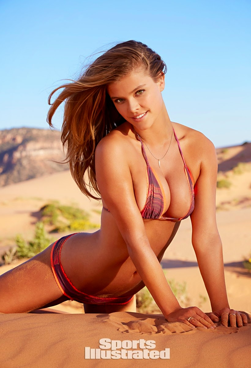 Nina Agdal poses in bikinis for Sports Illustrated Swim's 2015 issue