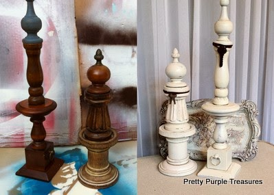 Rockin Redesigns Finials From Repurposed Parts 2