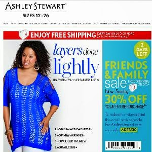 Coupon code for ashley stewart