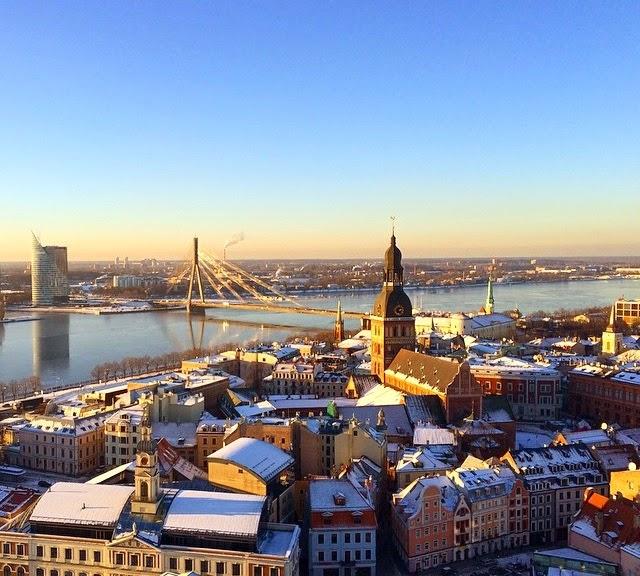 Riga Old Town Tallink Silja