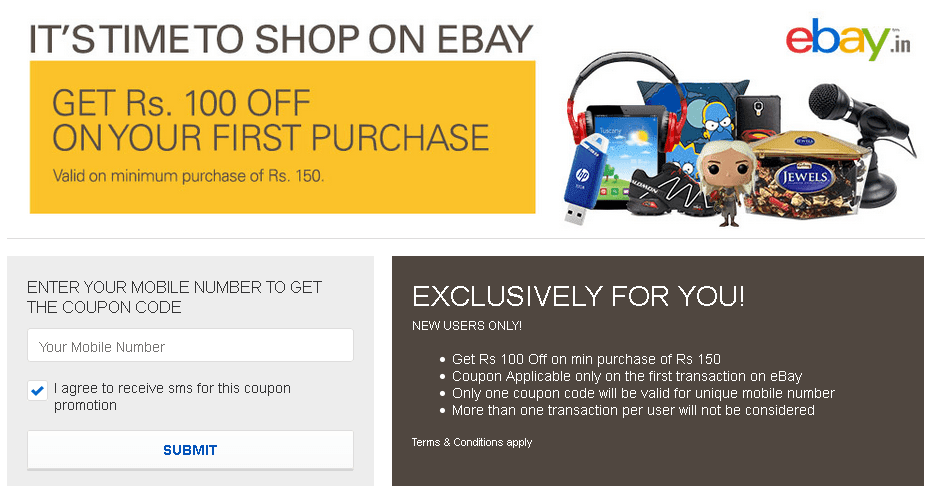 Ebay latest active coupons