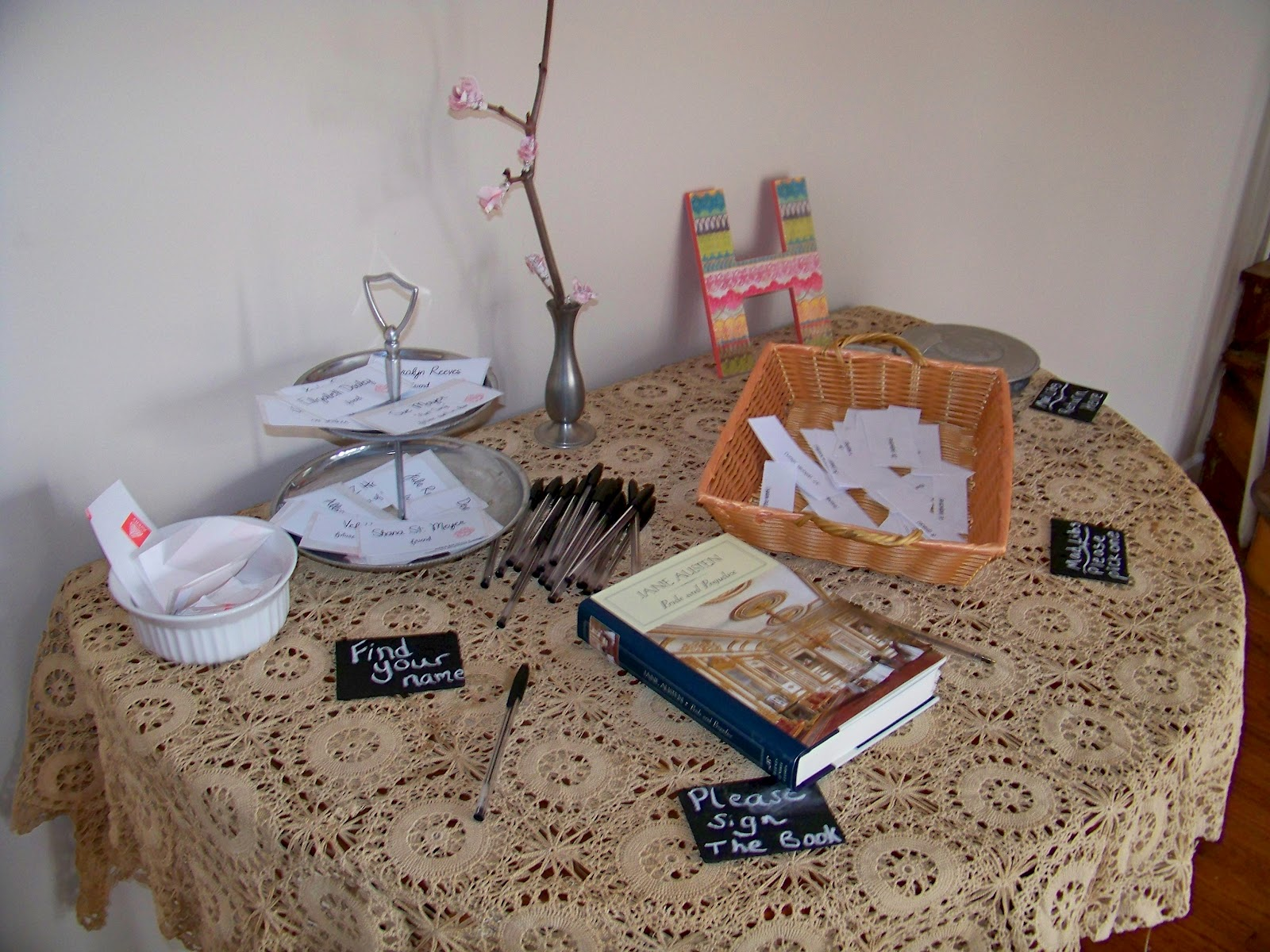 Our Suburban Farm Book Themed Bridal Shower