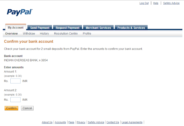 link bank account with paypal [Techzilla Firefox]