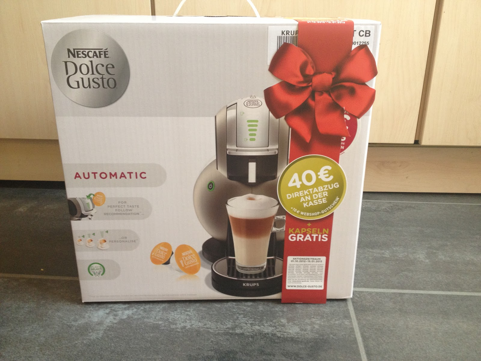testaktion dolce gusto melody 3 automatic es geht los. Black Bedroom Furniture Sets. Home Design Ideas