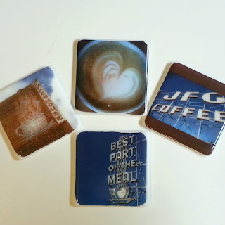 full-color photo on fused glass coaster, image on glass, photo on glass, full-color photo on glass