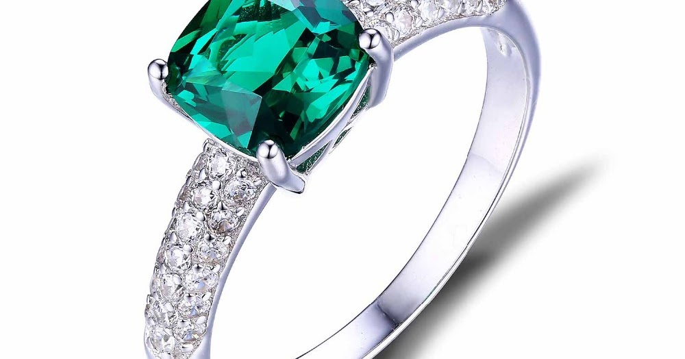 ... Solitaire Engagement Ring Pure 925 Sterling Silver Luxury Jewelry