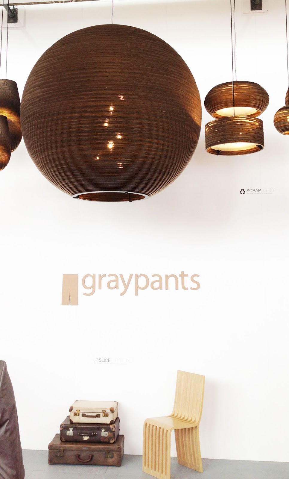 Interesting lighting fixtures at graypants an innovative group of young partners working in a sustainable manner. Featured below is a 6 ft. diameter ... & Design Guy: Day 3 Part I: Maison u0026 Objet Paris azcodes.com