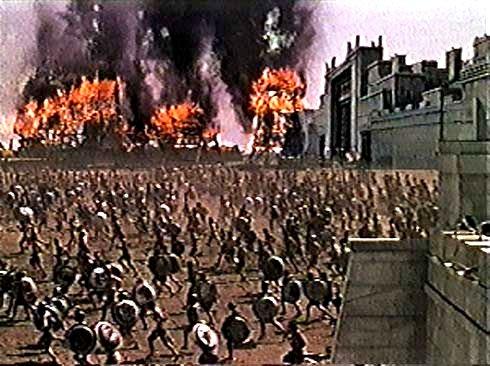 The trojan war short summary