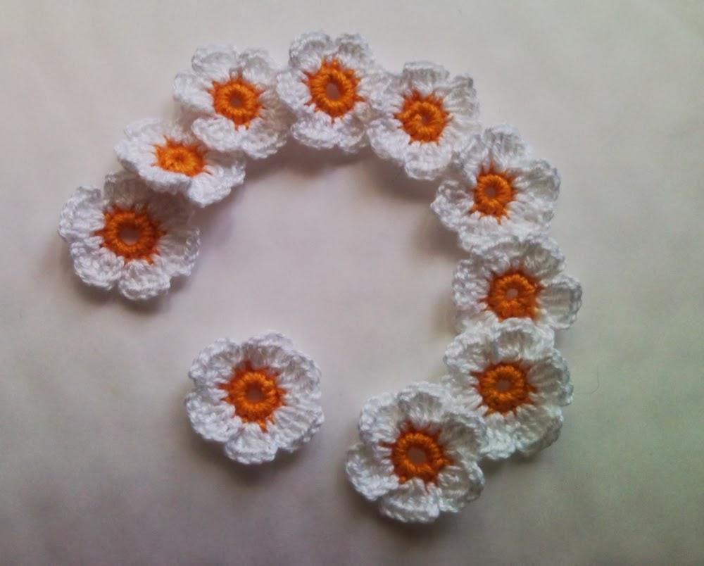 Barbarella Fait Du Crochet Fleurs Au Crochet