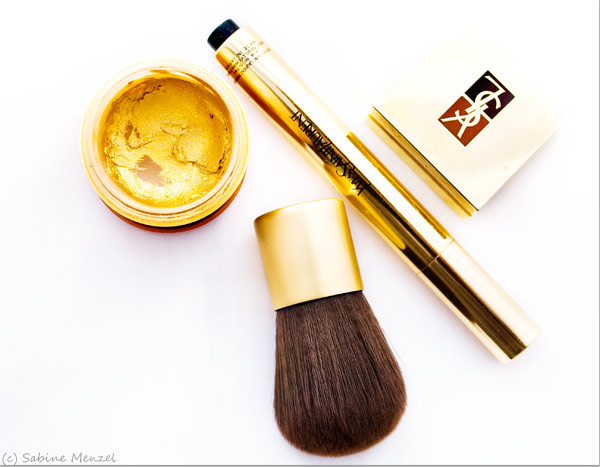 Psynopsis MyFavouriteThings YSL Touche Eclat YSL Eyeshadow Lancome Gold Blush